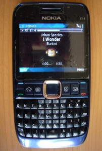 Controlling with a Nokia E63 and Remuco